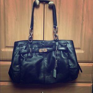 Coach mid size bag